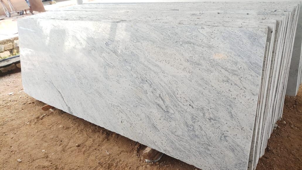High Quality White Granite Slabs Kashmir White Slabs