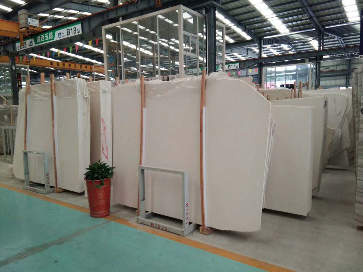 High Quality White Limestone Slabs
