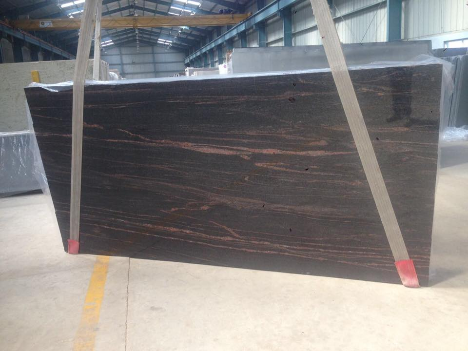 Himalayan Blue Indian Polished Granite Slabs
