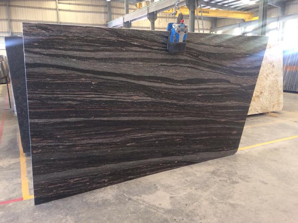 Himalayan Blue Polished Granite Slabs from India