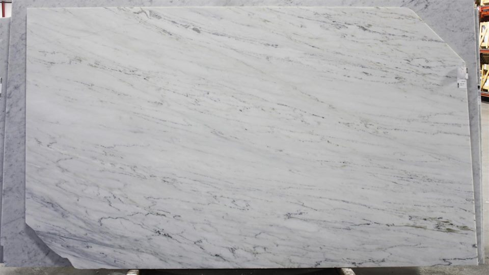 Honed Alabama White Marble Slabs