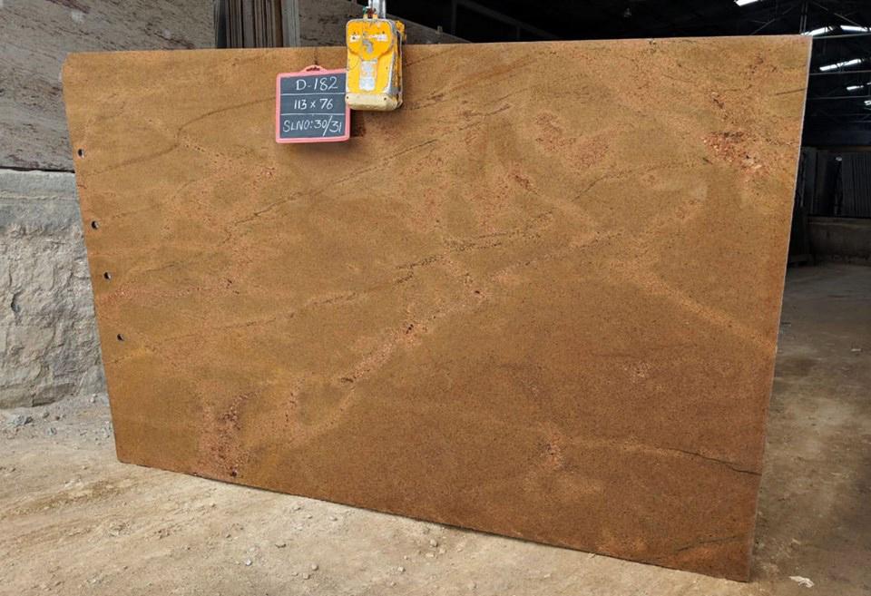 Honey Gold Granite Slab Indian Yellow Granite Slabs