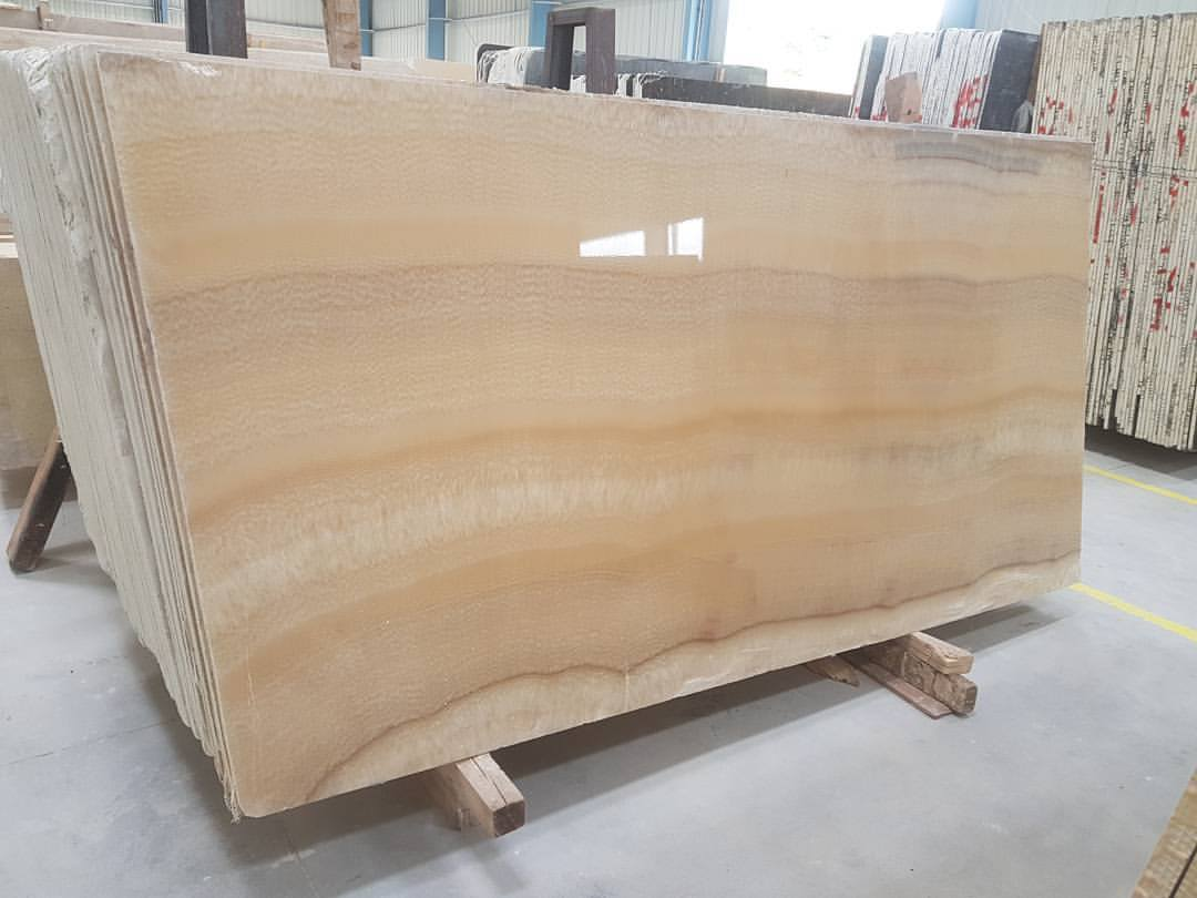 Honey Onyx Slabs Polished Beige Onyx Slabs