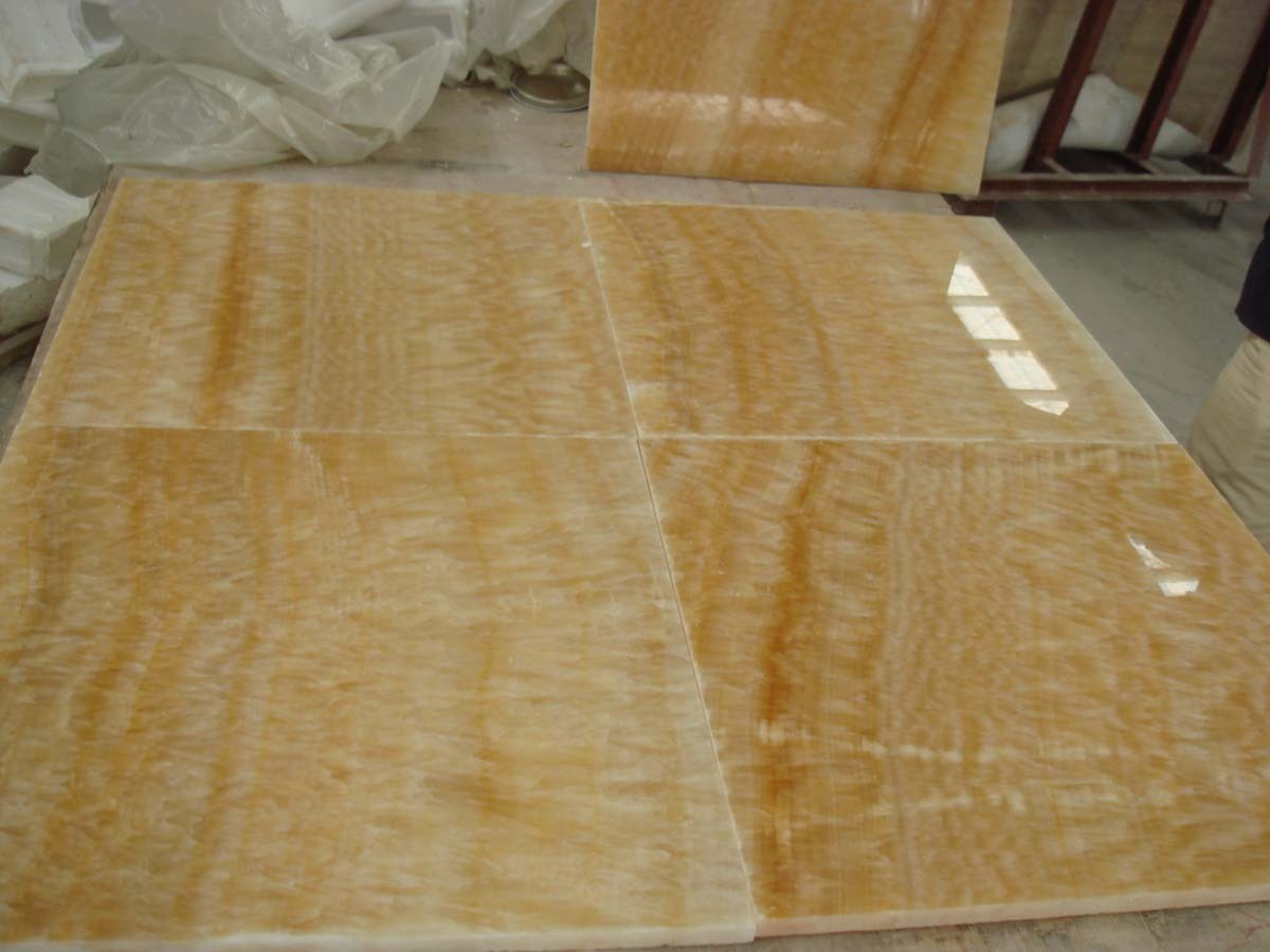 onyx tile yellow