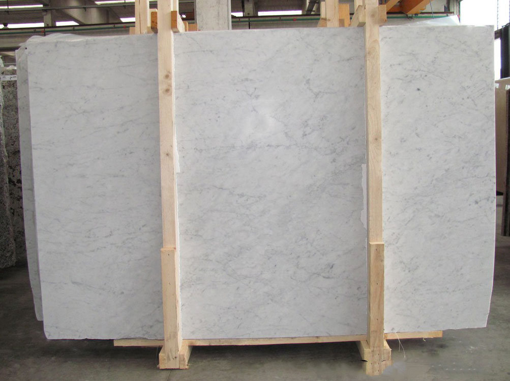 Hot Selling Bianco Carrara C Marble Slabs with Top Quality