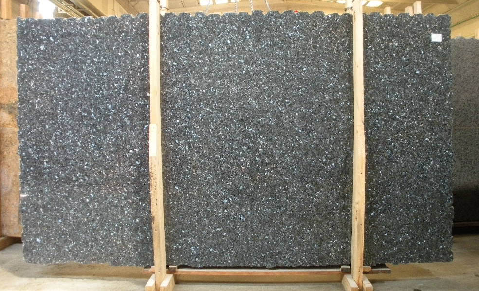 Hot Selling Blue Pearl Granite Slabs for Countertops