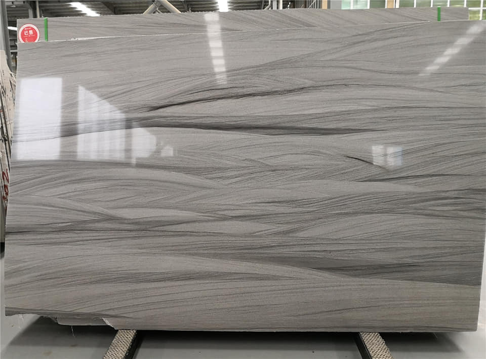 Hot Selling Fantasy Grey Marble Slabs Polished Grey Stone Slabs