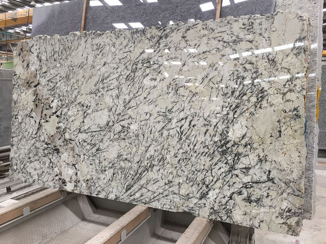 Hot Selling Ice Blue Polished Granite Slabs