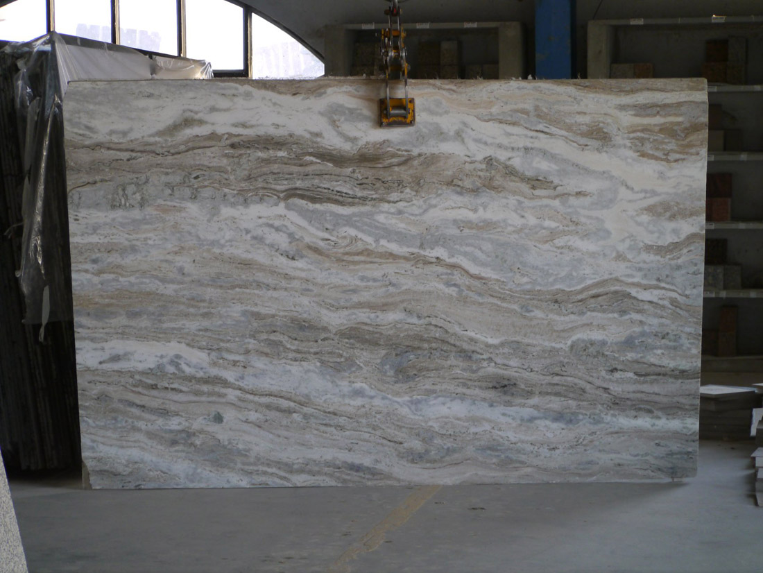 Hot Selling Indian Fantasy Brown Marble Slabs