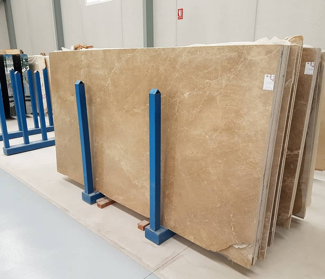 Hot Selling Light Emperador Marble Slabs