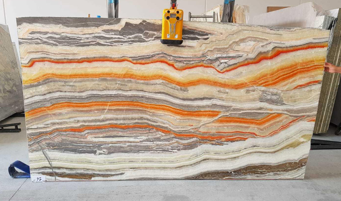 Hot Selling Multicolor Onyx Slabs