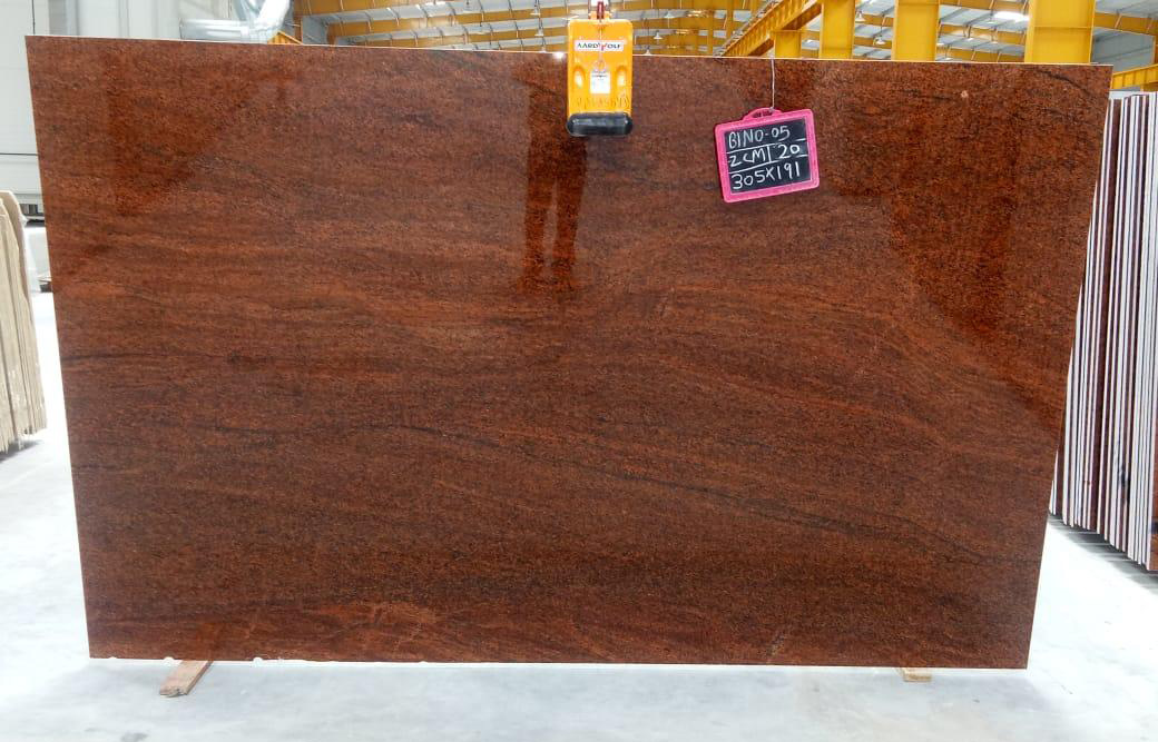 Hot Selling Red Granite Polished Multicolor Red 2cm Slabs