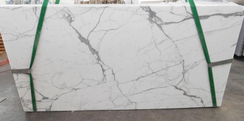 Hot Selling Statuario White Slabs Polished White Marble Slabs