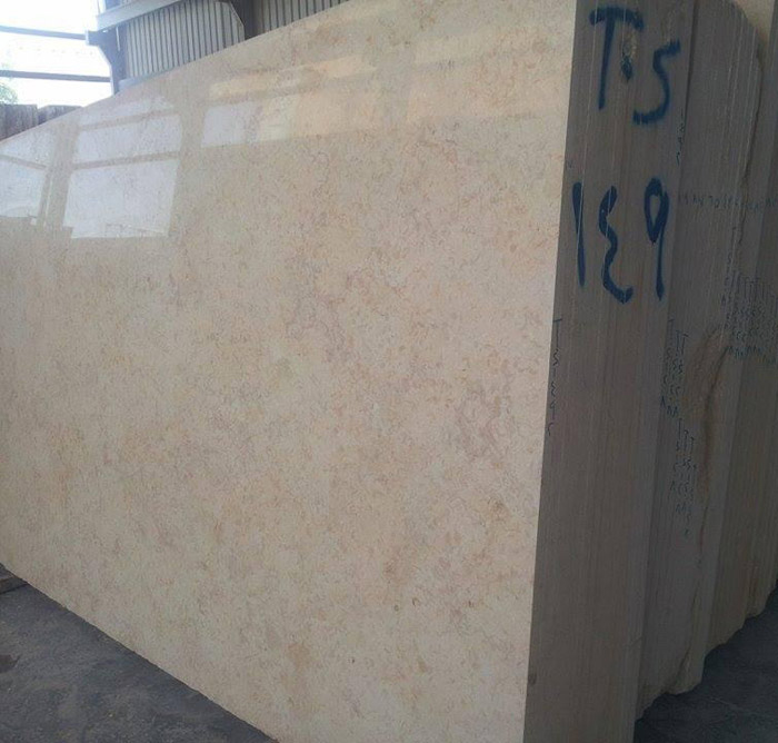 Hot Selling Sunny Beige Marble Slabs Polished Marble Slabs