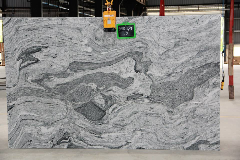 Hot Selling Viscon White Polished Granite Slabs