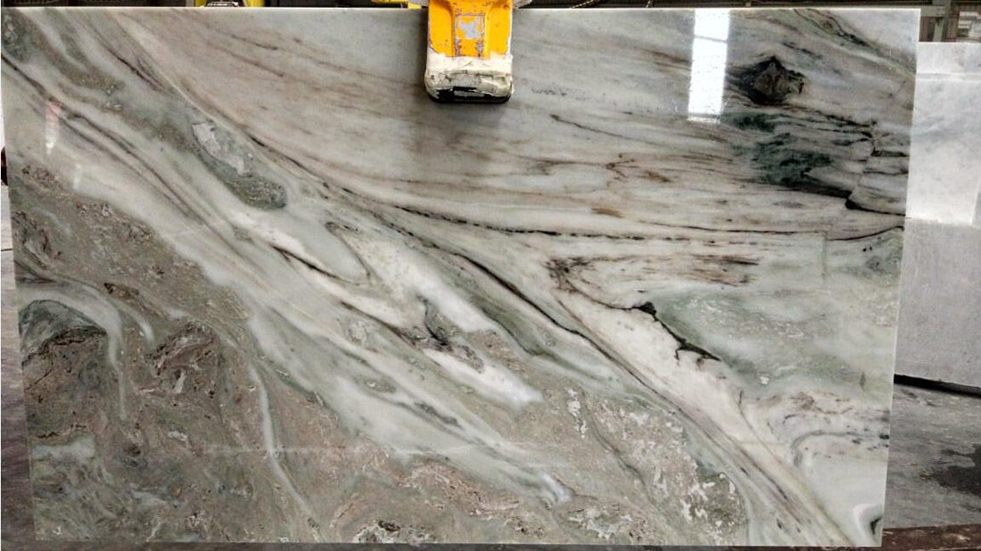 Hot Selling White Marble Slabs Polished Frozen White Slabs