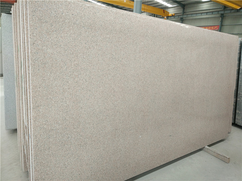 Hubei Shrimp Red Granite Polished Slabs from China