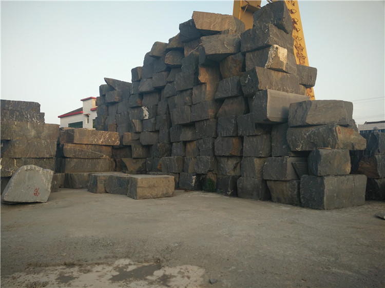 Hubei Snow Grey Granite Blocks for Export