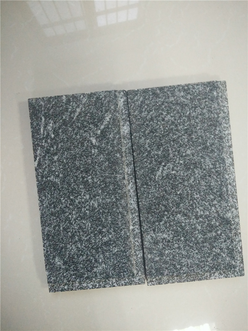 Hubei Snow Grey Granite Tiles Walling Stone