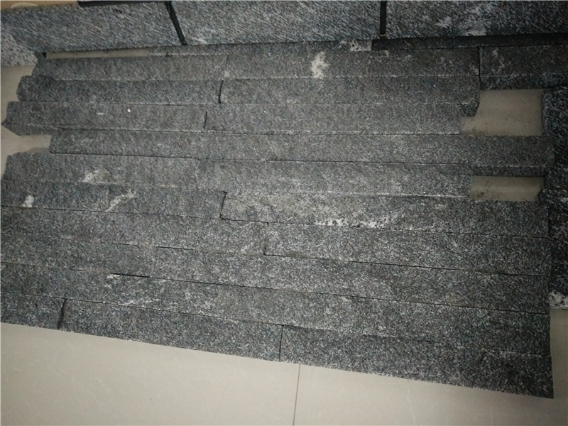 Hubei Snow Grey Granite Wall Stone