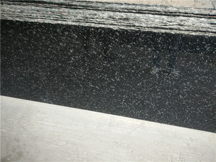 Hubei Starry Sky Granite Black Granite Polished Tops for Kitchen