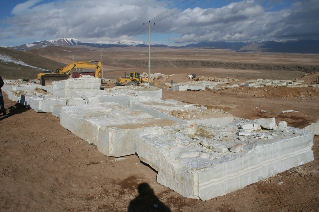white onyx natural stone blocks