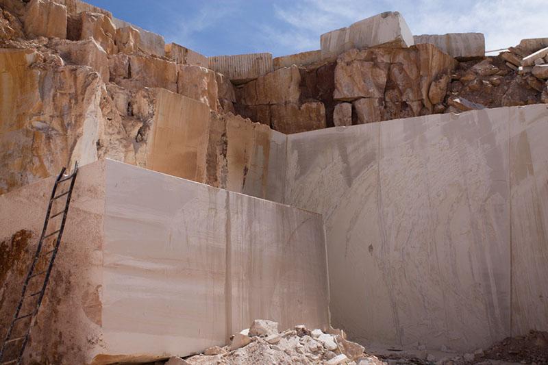 beige stone limestone blocks