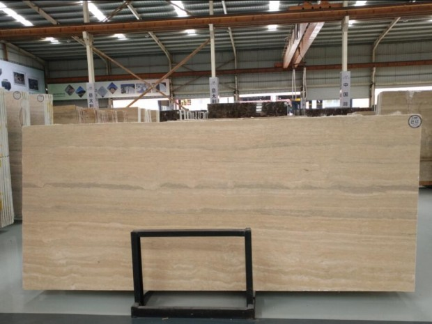 ITALY SILVER TRAVERTINE SLAB TILE Marble in Slabs