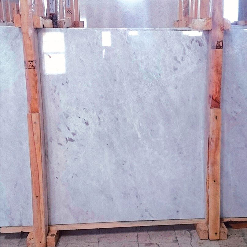 Ice Alpine Marble Slabs Polished White Marble Stone Slabs