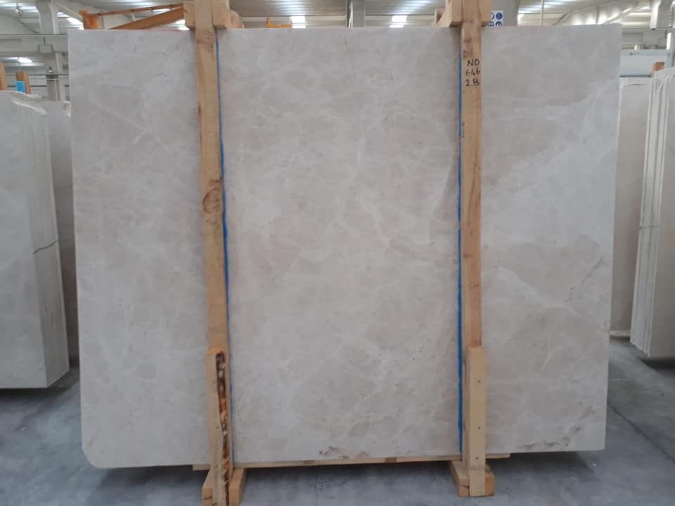 Ice Beige Extra Marble Slabs from Turkey