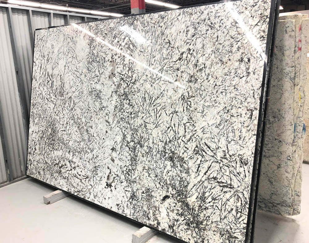Ice Blue Slab Polished Granite Stone Slabs for Countertops
