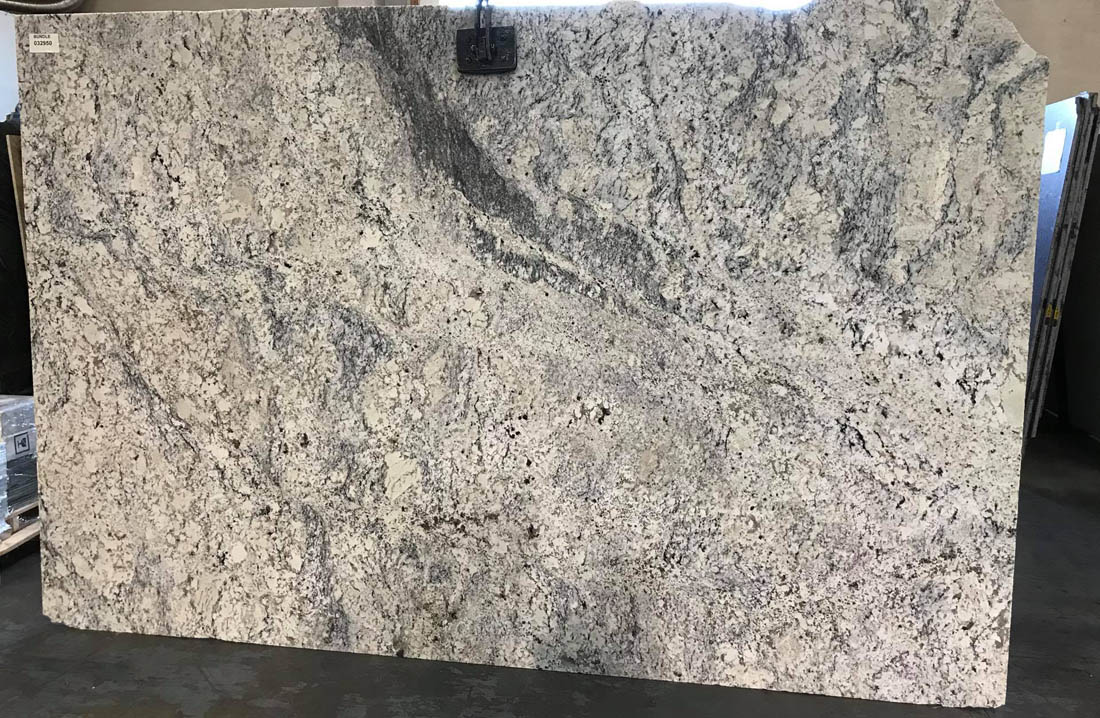 Ice White Granite Slab Polished White Granite Slabs