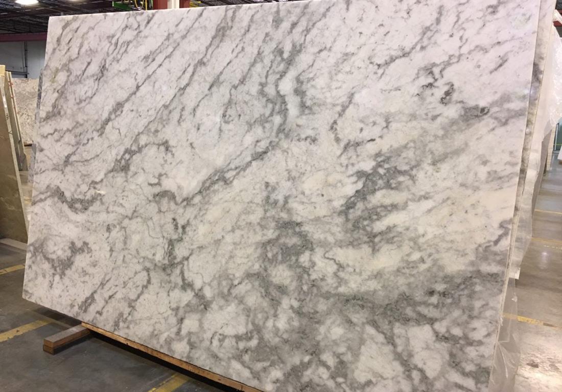 Icelandic White Marble Slab Polished Indian White Marble Slabs