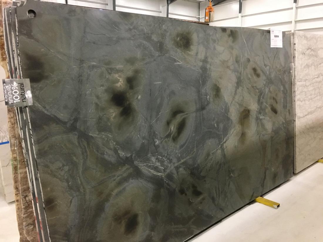 Illusion Quartzite Full Slab for Kitchen Countertops