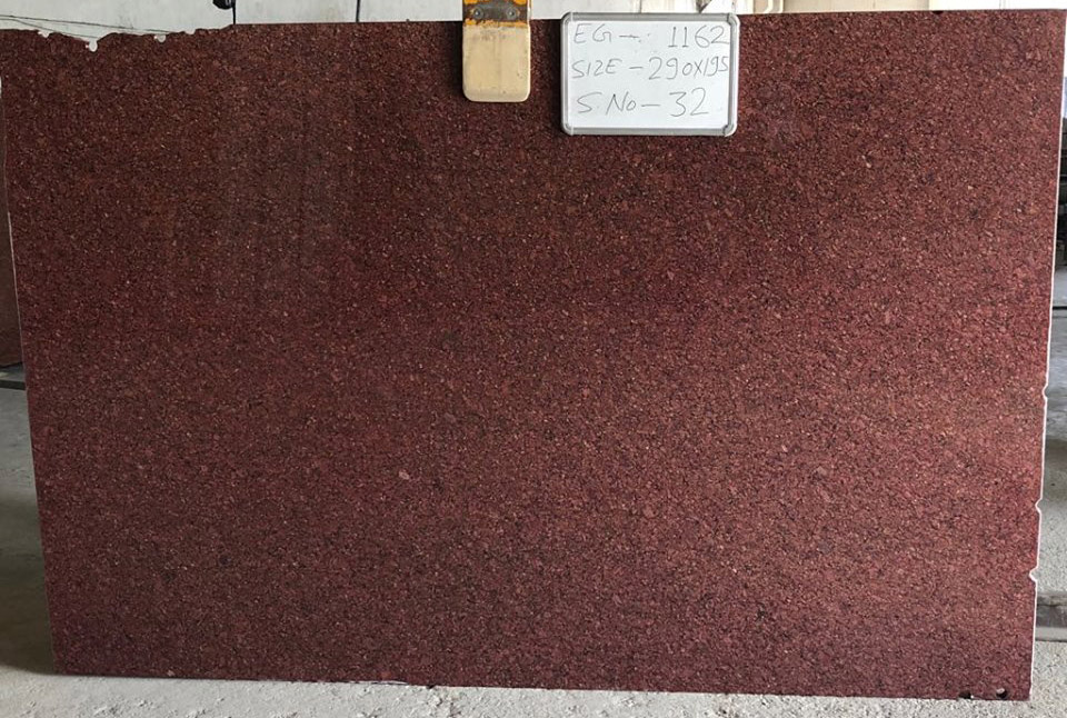 Imperial Red Granite Gangsaw Slab