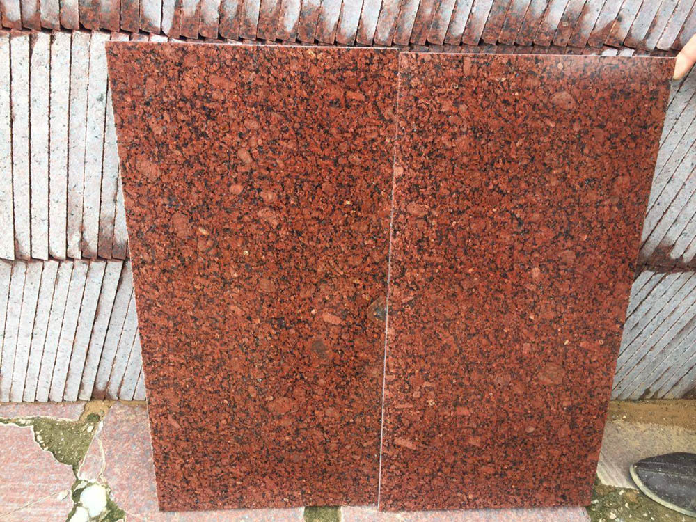 Imperial Red Tiles Polished Red Granite Tiles