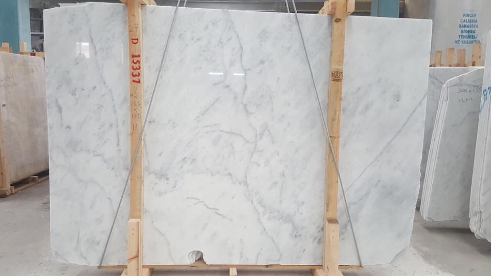 Imperial White Marble Slabs White Polished Slabs