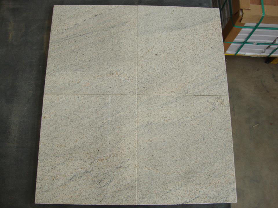 Imperial White Polished Granite Tiles Flooring Tiles