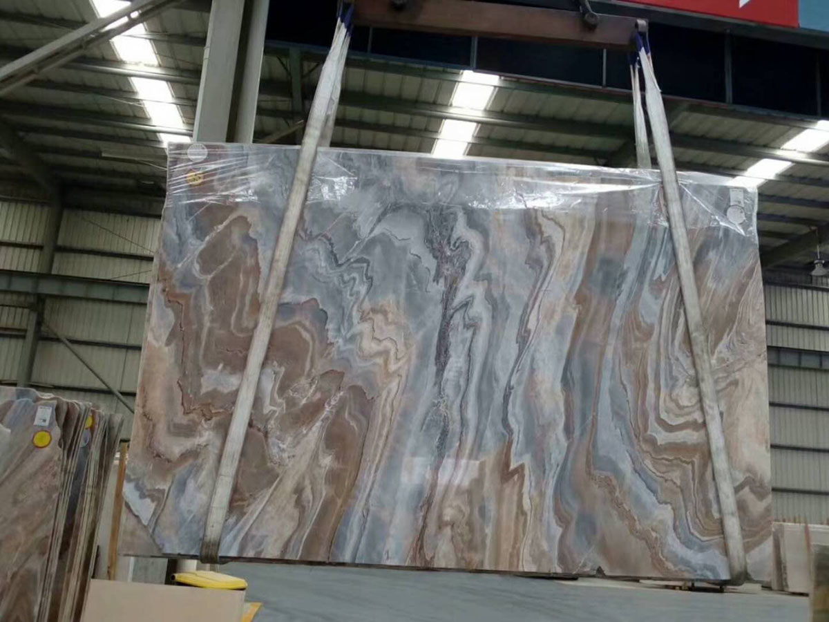 Impression Lafite Marble Slabs with High Quality