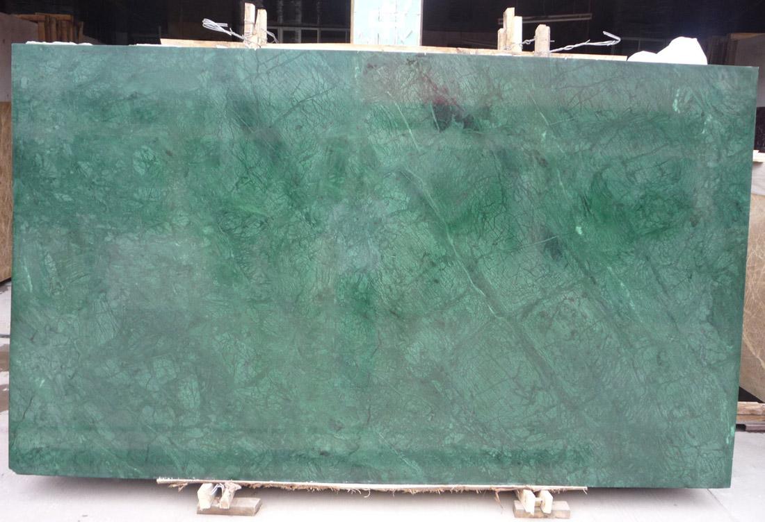 India Dark Green Marble Slab Polished Green Marble Slabs