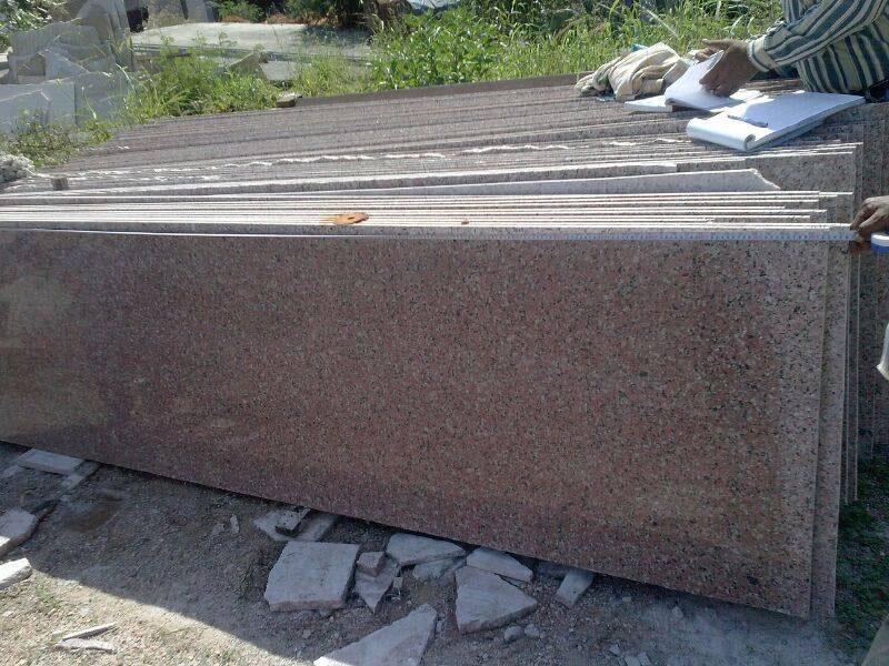 India Half Granite Slabs