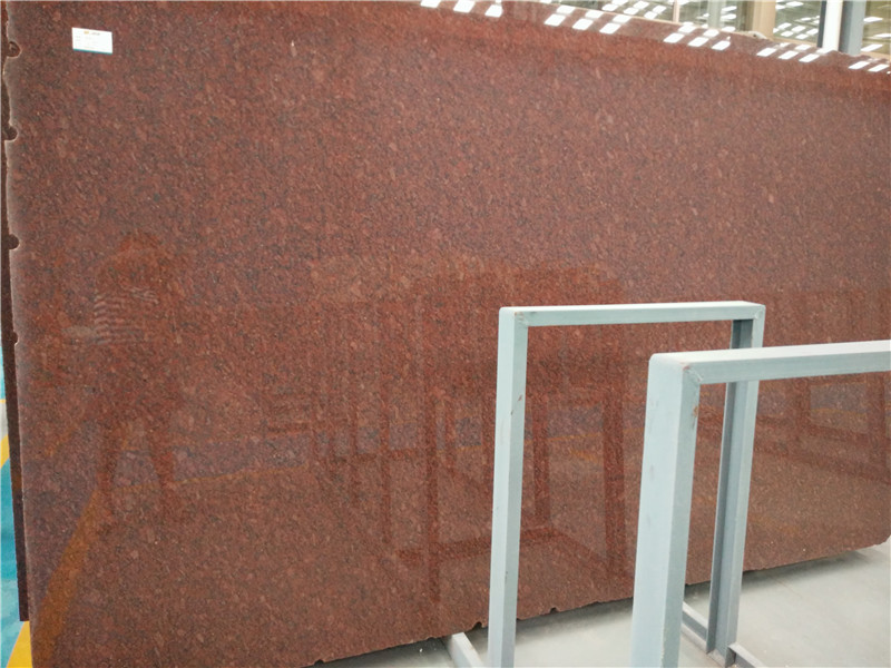India Red Granite Slabs Red Polished Natural Slabs