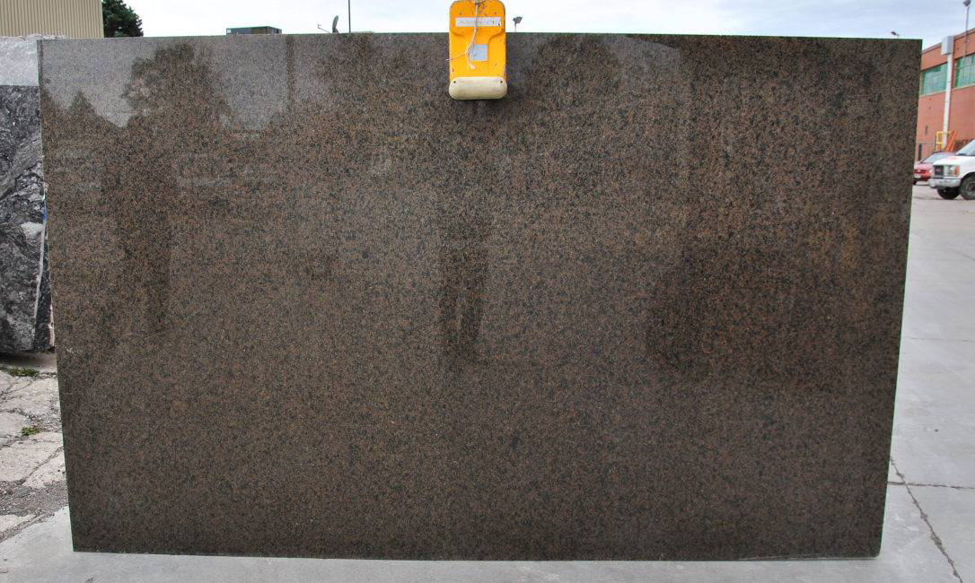 India Tropical Brown Natural Granite Polished Granite Slabs