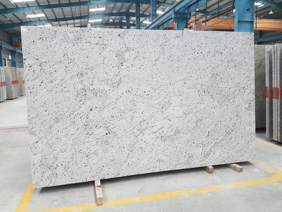 India White Galaxy Granite Polished Slabs
