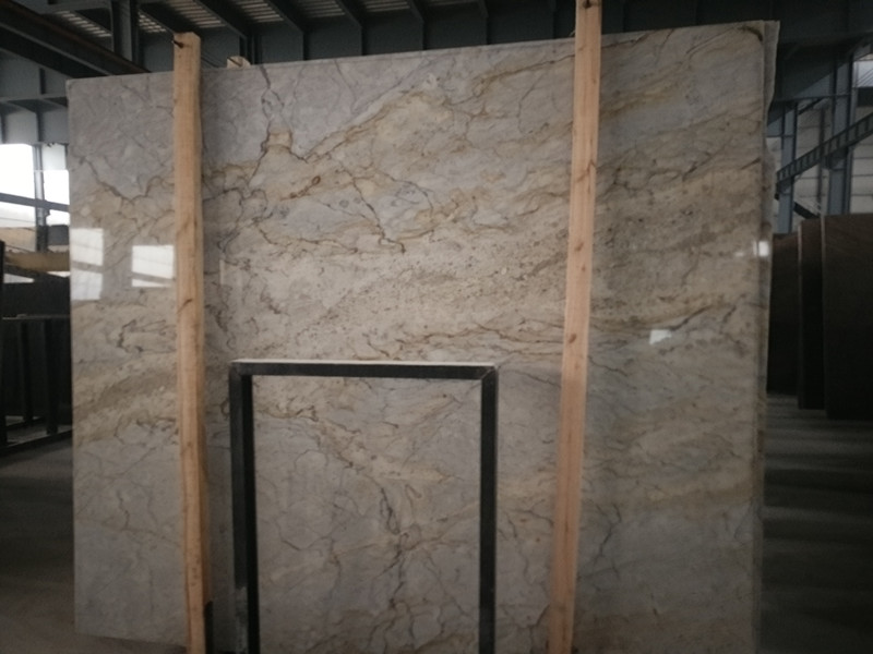 India Yashkin Granite Slabs Beige Polished Beige Slabs