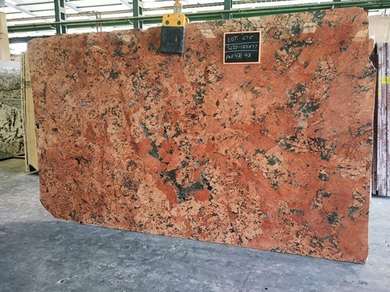 Indian Alaska Red Granite Red Granite Slabs