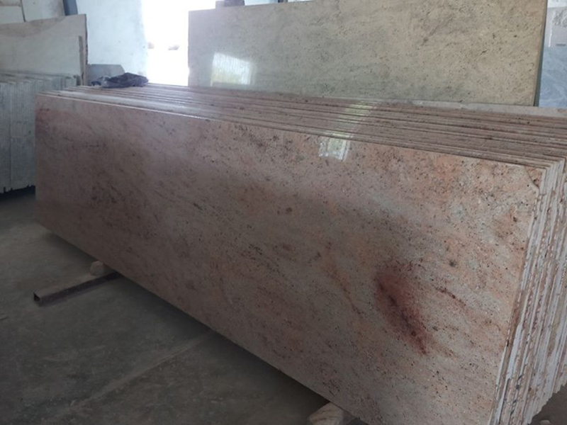 Indian Beige Granite Slabs Polised Siva Gold Granite Slabs
