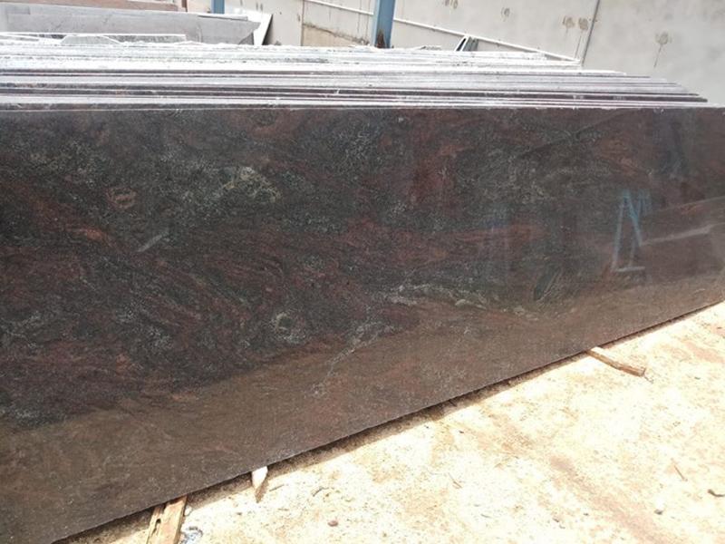 Indian Brown Granite Slabs Polished Paradiso Slabs