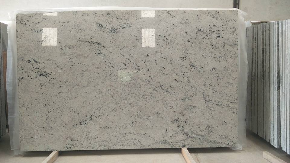 Indian Colonial White Granite Slabs Polished