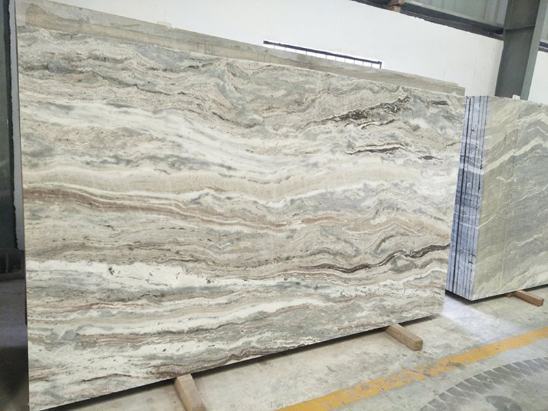 Indian Fantasy Brown Marble Polished Marble Slabs